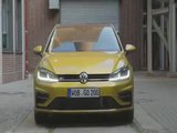 The new Volkswagen Golf 1.5l TSI Driving Video