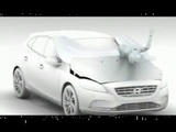 All you want to see and need to know about the pedestrian airbag on the new Volvo V40