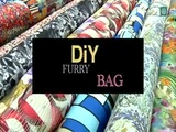 DIY Furry Bag (Sylvia Salas de Dare to DIY) | Blogueras de moda