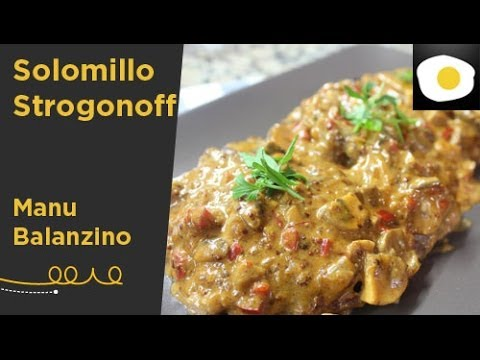 Solomillo Strogonoff (Receta) | The Gourmet Journal