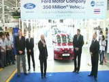 Ford's 350 Millionth Vehicle Celebration