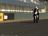The new BMW HP4 Riding scenes - Jerez Racetrack