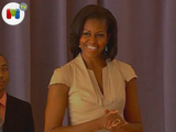Michelle Obama, a ritmo de hip hop