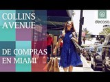 Collins Avenue y Hotel Agua Spa (Miami Beach) | De compras en Miami